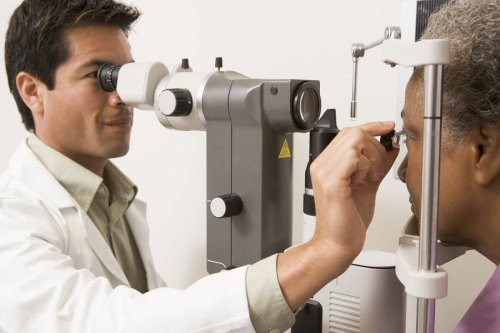 Angle closure glaucoma testing at Gerstein Eye Institute